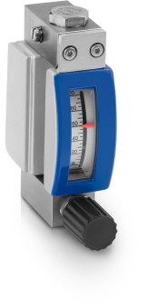 DK32 Variable area flowmeter – Mechanical indicator with horizontal connections