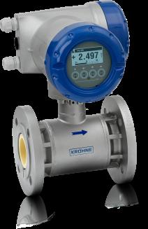 OPTIFLUX 5300 C Electromagnetic flowmeter – Compact version with flange