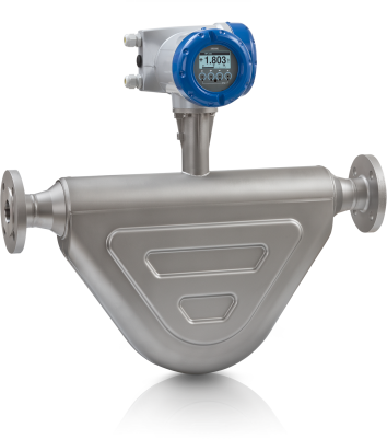 OPTIMASS 6400 C Coriolis Masse-Durchflussmessgerät – Kompakt-Ausführung mit Flansch