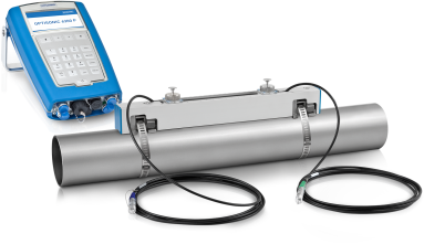 OPTISONIC 6300 P Caudalímetro ultrasónico clamp-on