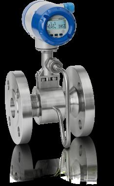 Débitmètre Vortex OPTISWIRL4070C – Version compacte avec compensation intégrée de la pression et de la température et bride