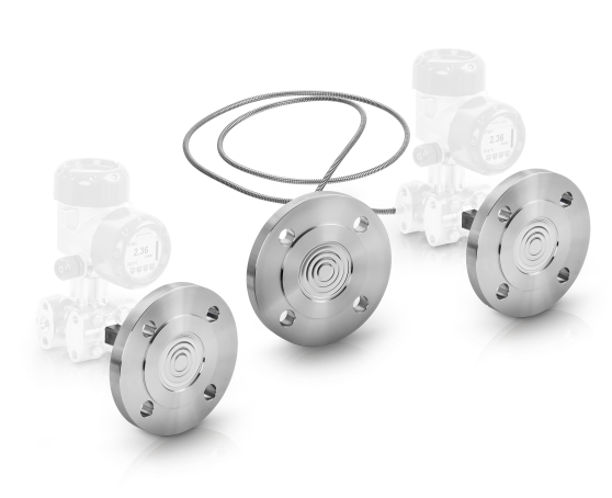 A collection of diaphragm seals from KROHNE