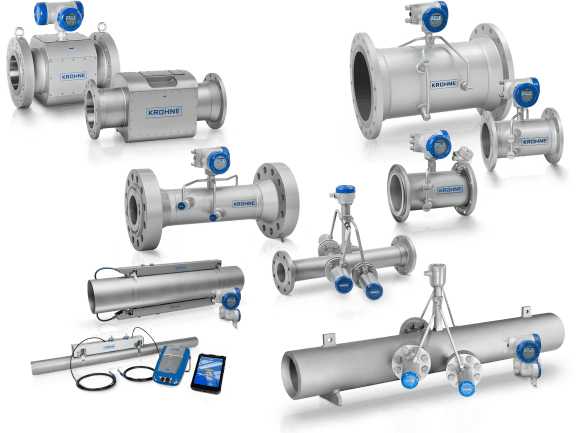Ultrasonic flowmeters | KROHNE Group