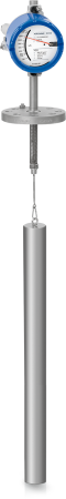 BW 25 Displacer level transmitter – Version with aluminium housing