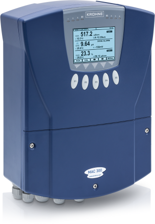 MAC 300 For liquid analytical measurements with OPTISENS TSS