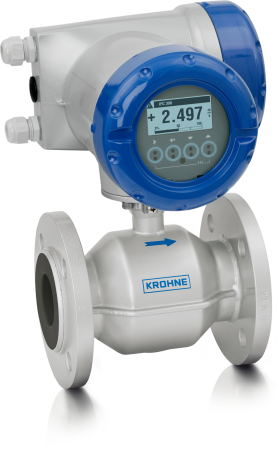 OPTIFLUX 2300 C Electromagnetic flowmeter – Compact version