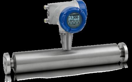 OPTIMASS 7400 C Coriolis mass flowmeter – Compact version with flange