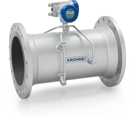 OPTISONIC 3400 C Ultrasonic flowmeter – Compact version with aluminium housing and flange