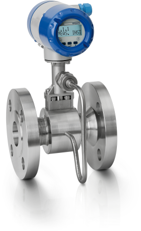OPTISWIRL 4070 C Vortex flowmeter – Compact version with integrated pressure / temperature compensation and flange