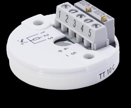Head-mounted temperature transmitter OPTITEMP TT 10 C – Standard version