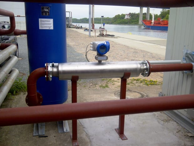 Custody transfer measurement of marine fuels