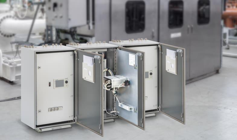 Flow control cabinet