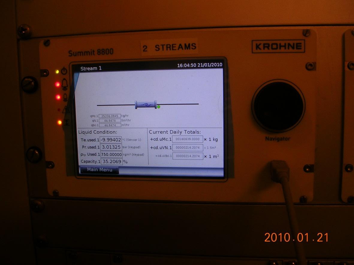 Display of SUMMITT 8800