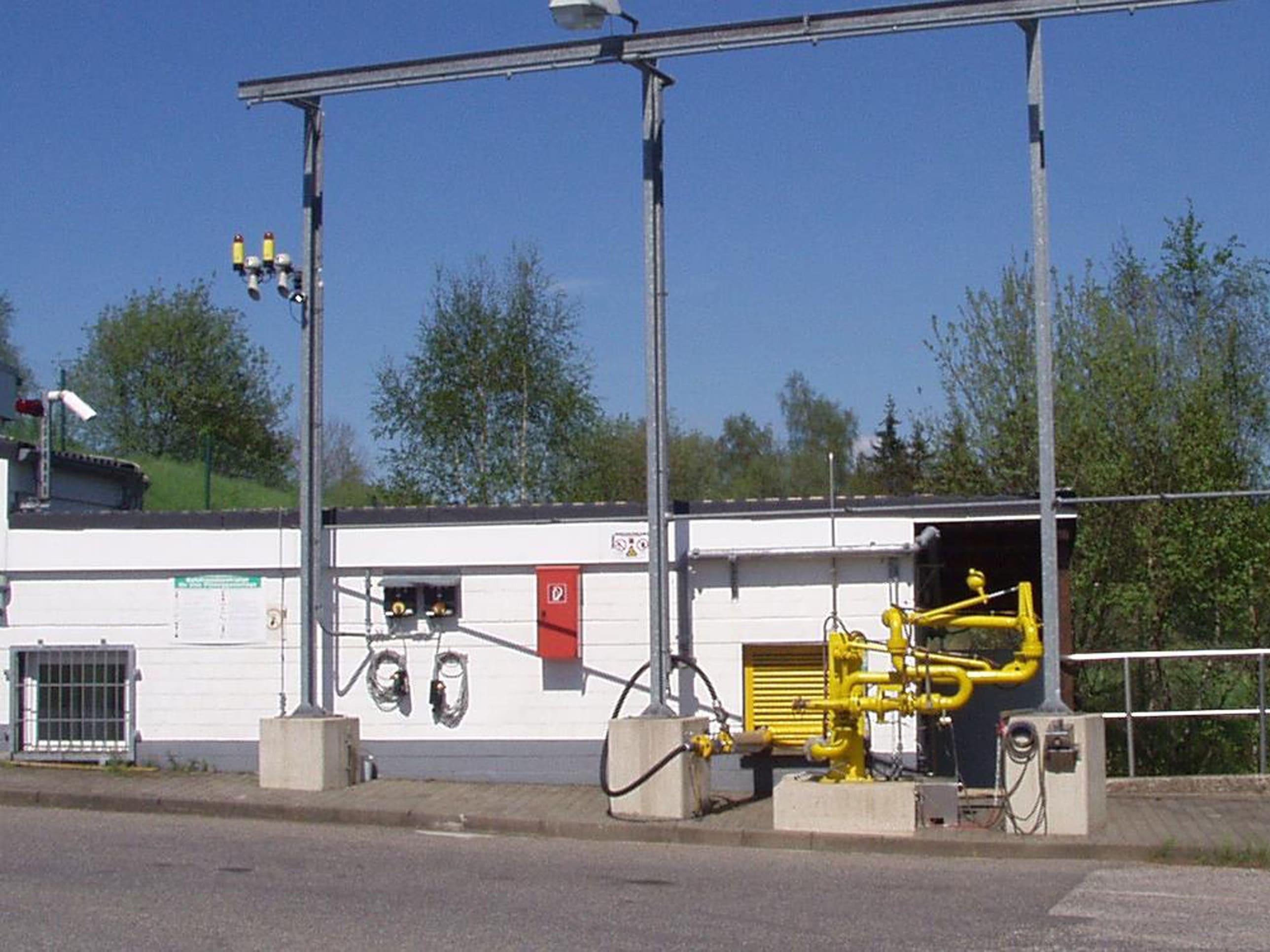 Custody transfer filling of liquid propane