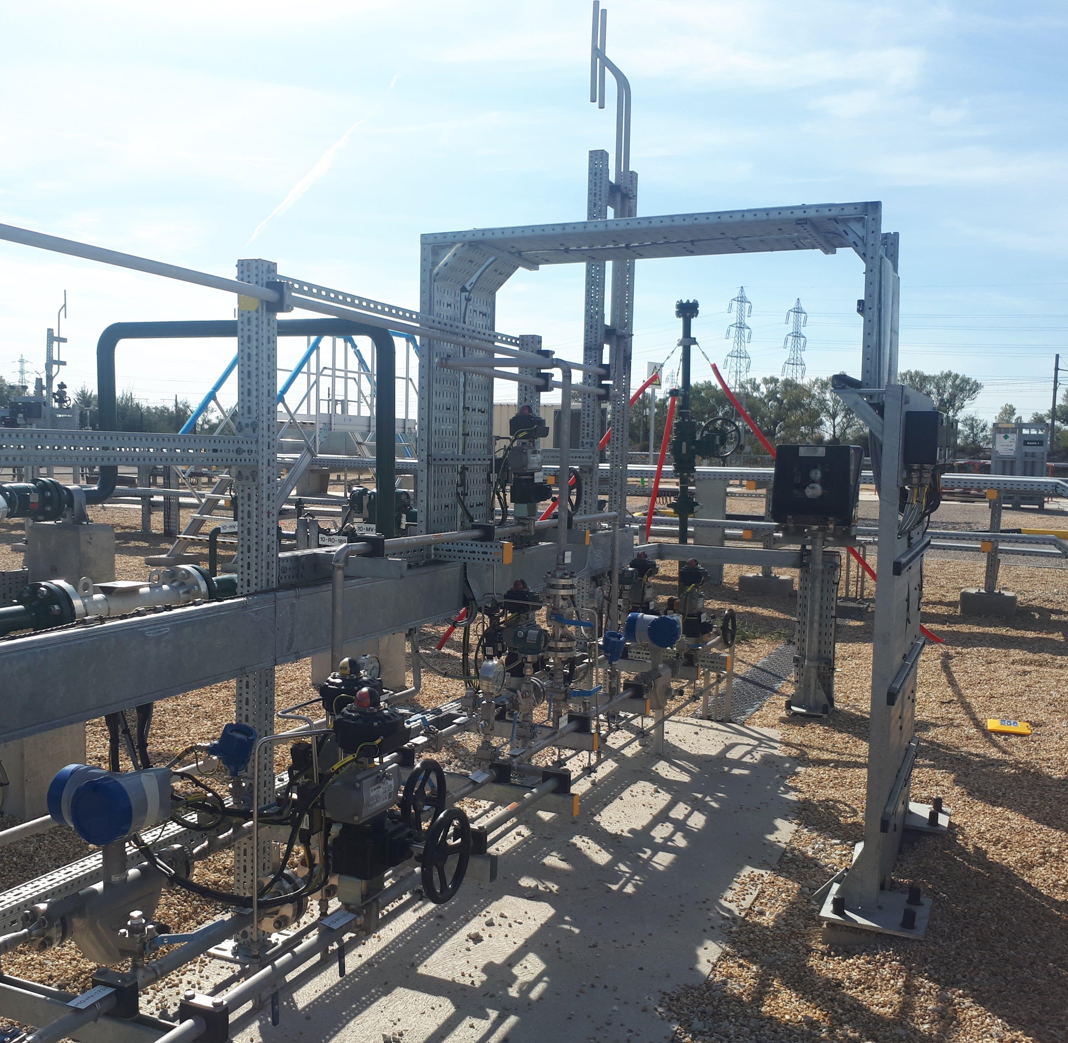 KROHNE Coriolis mass flowmeters installed at P2G demonstrator