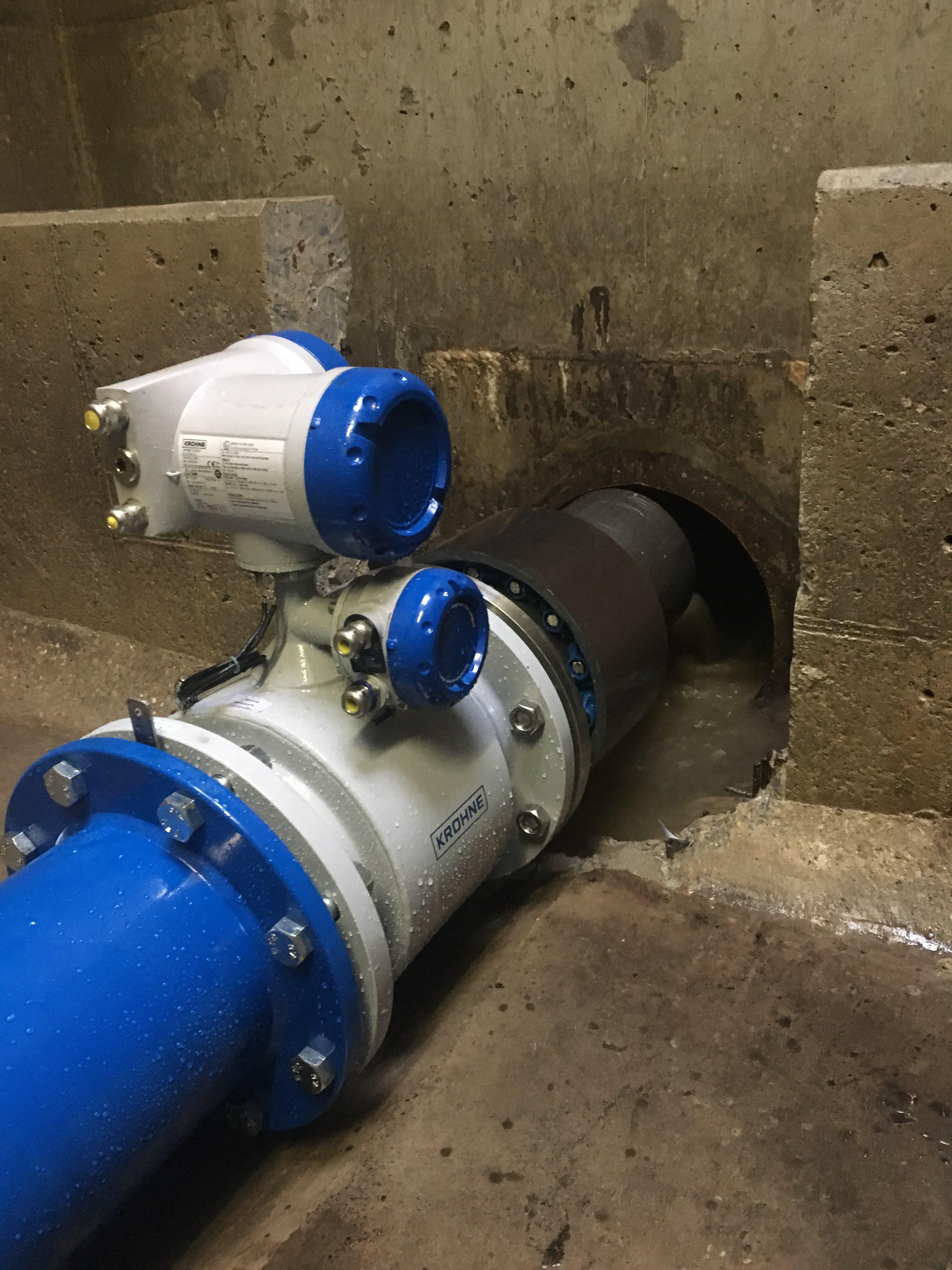 TIDALFLUX 2300 – Flowmeter for gravity pipelines