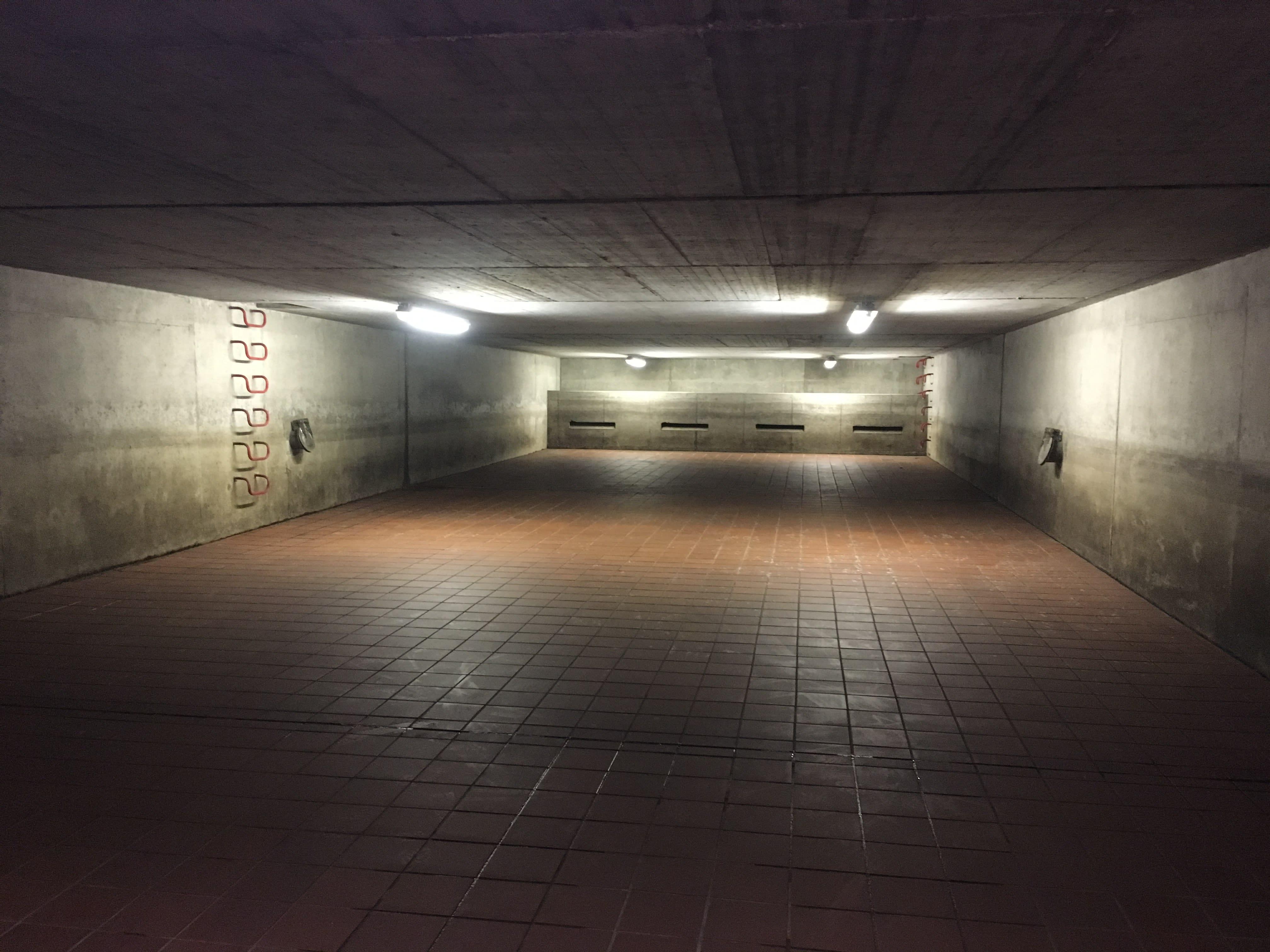 Underground storm overflow basin in the Municipality of Schlangen