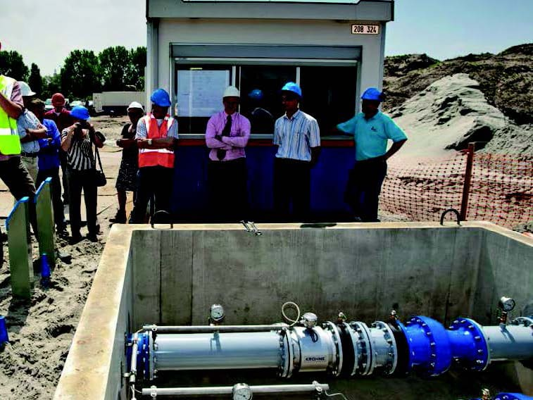 Water meter in Water Distribution Network of Evides