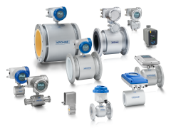 A collection of electromagnetic flowmeters from KROHNE