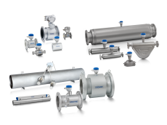 A collection of flow sensors from KROHNE