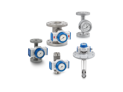 A collection of mechanical flow controllers from KROHNE