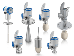 A collection of radar (fmcw) level transmitters from KROHNE
