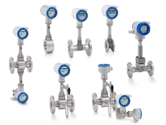A collection of vortex flowmeters from KROHNE