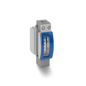 DK34 Variable area flowmeter – Mechanical indicator with vertical connections