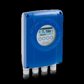 Электромагнитный преобразователь сигналов IFC 050 W – Раздельное исполнение в корпусе для настенного монтажа с дисплеем