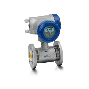 OPTIFLUX 5300 C Electromagnetic flowmeter – Compact version with flange