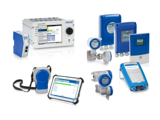 A collection of components & auxiliary equipment for flow measurement from KROHNE