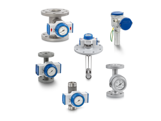 A collection of flow controllers from KROHNE