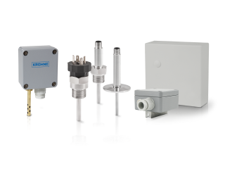 A collection of resistance (rtd) compact sensors from KROHNE
