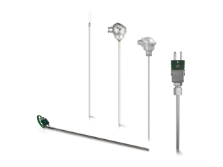 A collection of thermocouple (tc) cable sensors from KROHNE