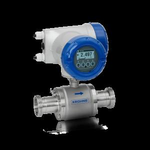 OPTIFLUX 6300 C Magnetisch-induktives Durchflussmessgerät – Kompakt-Ausführung mit Aluminiumgehäuse und Hygieneanschluss (DIN 11851)