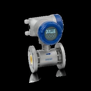OPTIFLUX 7300 C Magnetisch-induktives Durchflussmessgerät – Mit kompaktem Aluminiumgehäuse und Flansch