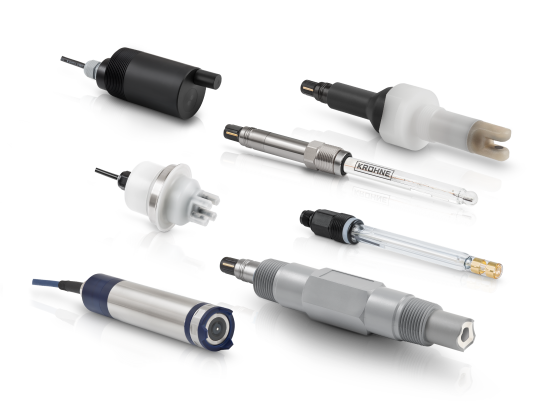 A collection of analytical sensors from KROHNE