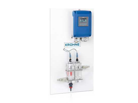 A collection of disinfectant measuring systems from KROHNE
