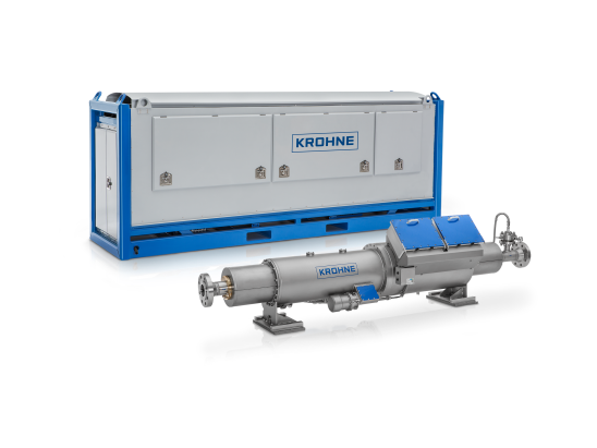 A collection of magnetic resonance multiphase flowmeters from KROHNE