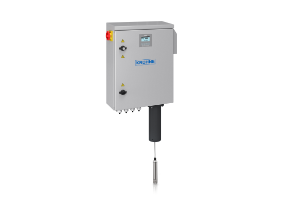A collection of sludge level measuring systems from KROHNE